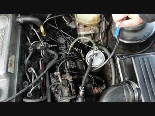 Ford Escort, Sierra, Mondeo. Прокачка Топливной системы, ТНВД, подробная инструкция.