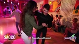 Man and Lady Salsa Dancing at Rostov For Fun Fest 2018, Saturday 03.11.2018