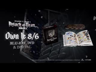 Attack on Titan Season 3 Part 1 on Blu-ray/DVD