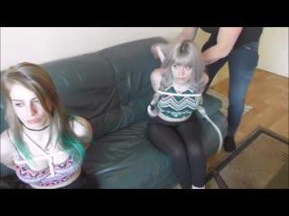 Luna Grey and Violet Haze_Bondage Dolls