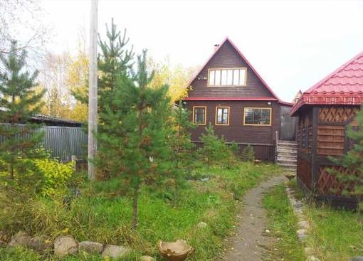 деревянный дом СНТ Полярные Зори