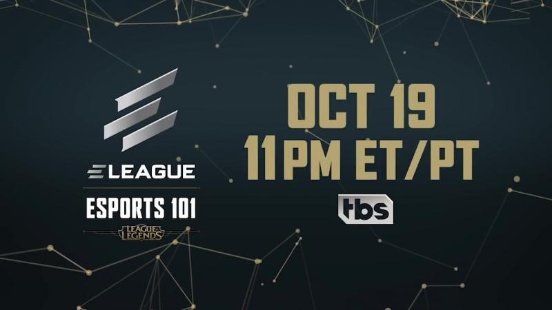 Трейлер ELeague's Esports 101: League of Legends