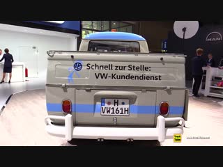 1958 Volkswagen Transporter - Walkaround - 2018 IAA Hannover