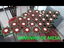 Caminho de Mesa Estrelas do Natal em Crochê por Neddy Ghusmam