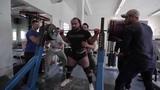Zahir Khudayarov 400kgx3 Squat Raw