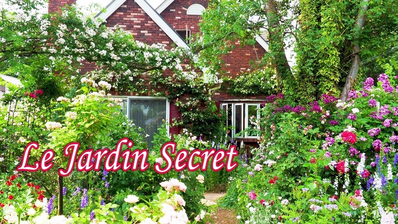 Le Jardin Secret. Ms.Mariko Gonda's Residence. ル・ジャルダン・サクレ4K 権田邸