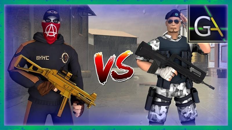 ВККС 3 vs Захватчик! сравнение сетов в Контра Сити