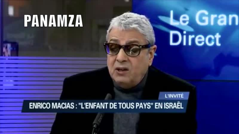 Enrico Macias Les Arabes qui vivent en Israël doivent sestimer heureux