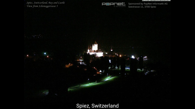 Switzerland night sky flashing to day. Urgent be ready seems time to very short planet x is here