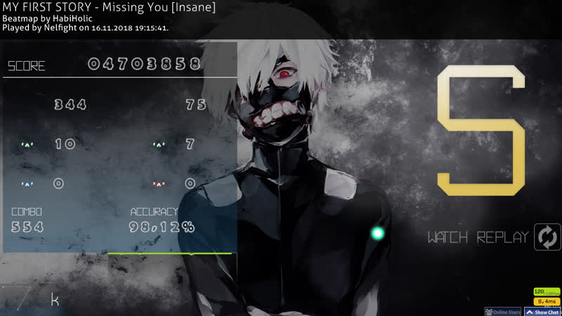 MY FIRST STORY - Missing You [HabiHolic's Insane] noCBpass