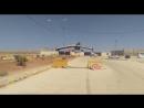 Контрольно-пропускной пункт Насиб на границе между Сирией и Иорданией, закрыт с иорданской стороны