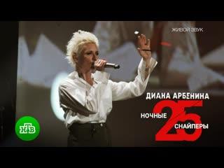 «Рубеж»: Диана Арбенина и «Ночные снайперы»