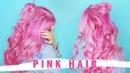 Pink Hair Bellami Tape In Extensions 60 by tashaleelyn