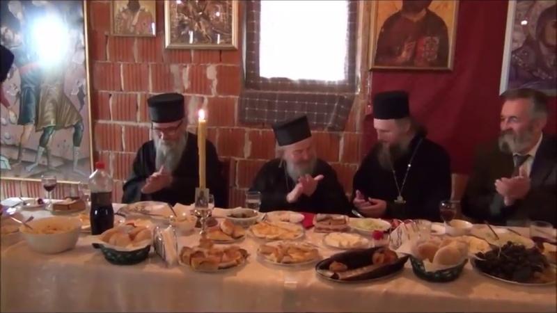 Беседа иеромонаха Гавриила на трапезе [ 6.10.2016 ].