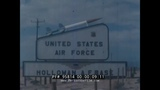 U.S. AIR FORCE ROCKET SLED &amp HIGH SPEED TEST TRACK HOLLOMAN NEW MEXICO 1960s HIGHLIGHTS FILM 95814
