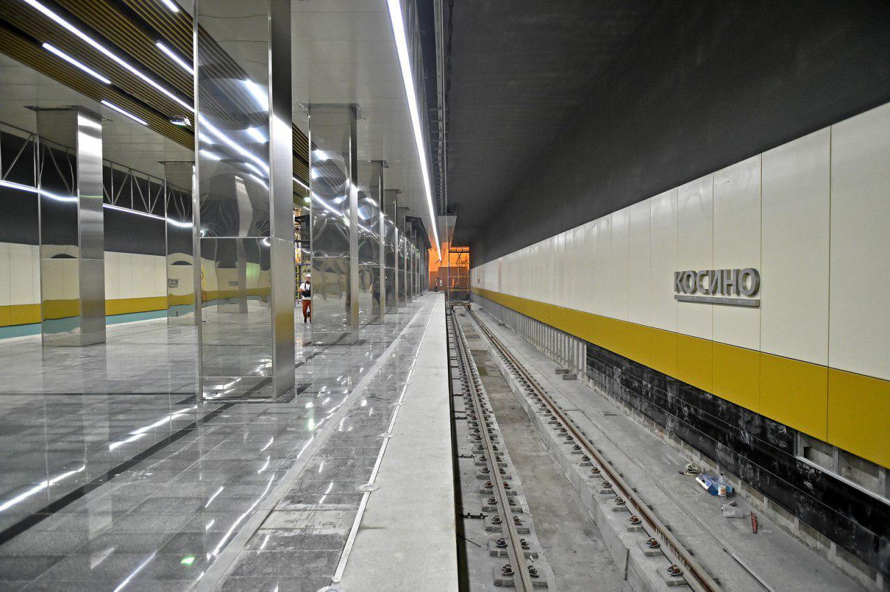 Отдать свой голос за станцию метро «Косино» можно будет в голосовании на портале «Активный гражданин»