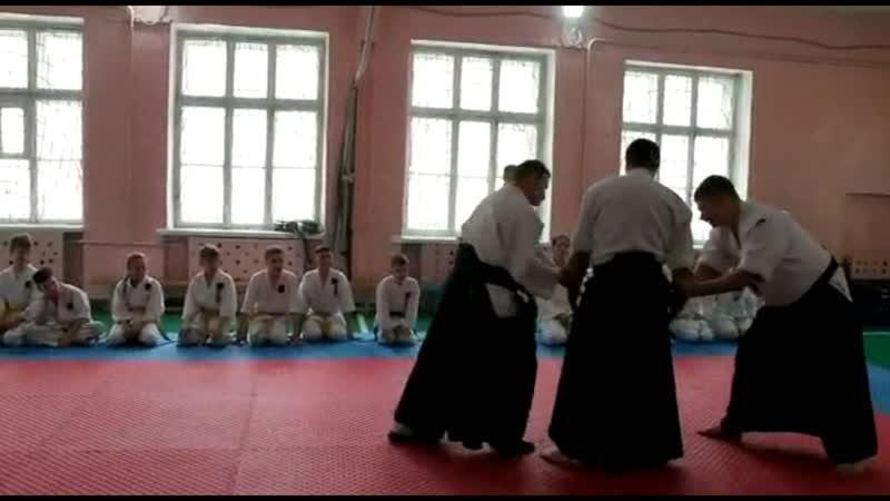 4 Открытый урок Айкидо. Показательное выступление взрослой группы | 合気道 | Aikido