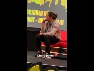 Chai Hansen at Comic-Con Ireland_13.10.18