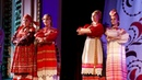 Русский костюм дефиле с эстонским акцентом Троицкие звоны 2018
