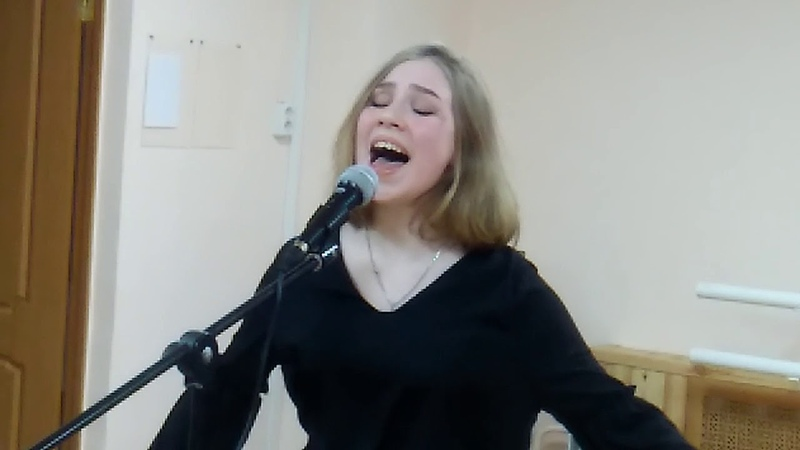 NothingCompares (Prince) cover by Варвара Кистяева (ДШИ Вдохновение), репетиция 2017