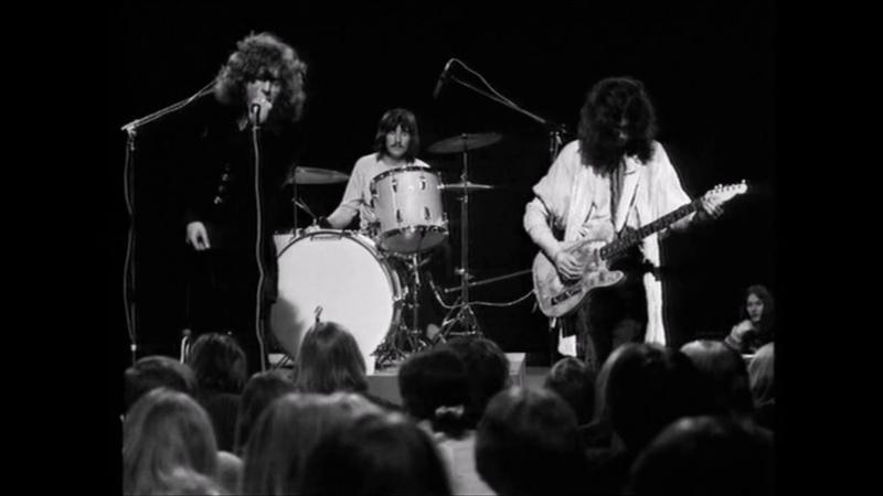 Led Zeppelin Live on TV BYEN Danmarks Radio Full Performance