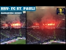 hsv-FC Sankt Pauli. Hamburg derby fans highlights