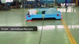 cable drum powered transfer trolley for industrial transportation cart trolley wagon