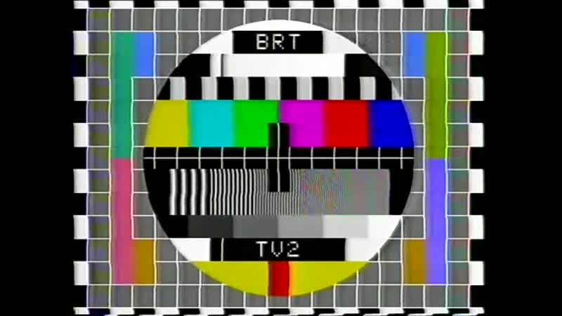 Анонс, программа передач и конец эфира (BRT TV2 [Бельгия], 10.10.1982)