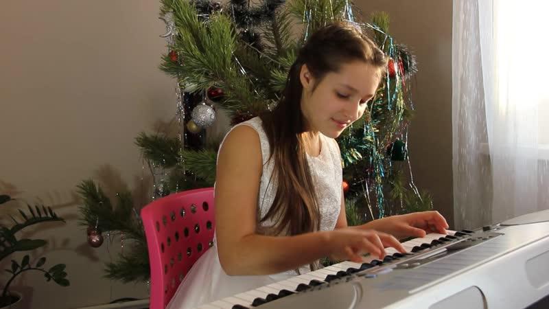 Екатерина Альмендеева-All I Want for Christmas Is You (live sint)