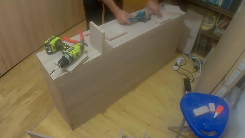 Мебель из ДСП своими руками. Стеллаж в детскую комнату делаем самостоятельно