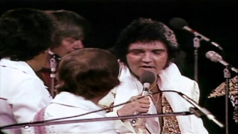 Elvis Presley Early Mornin' Rain Live 1977 CC