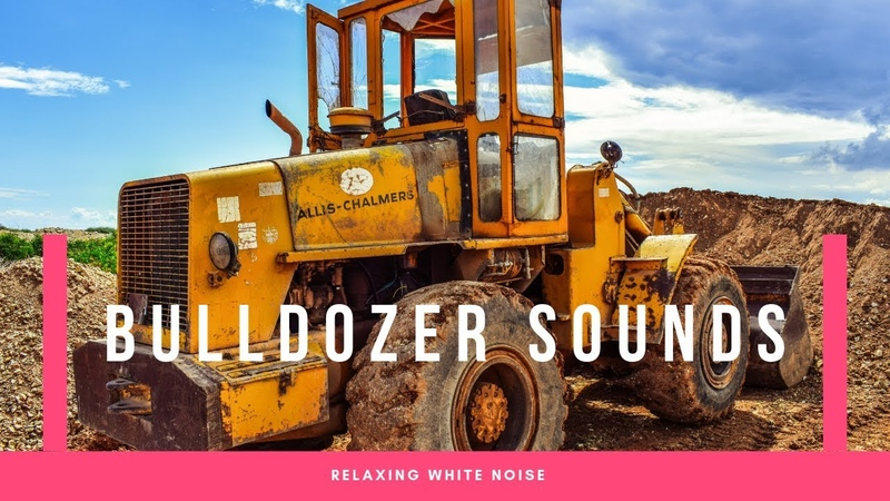 Relaxing Working Bulldozer White Noise | Sleep, Study, Focus, Soothe a Baby | Vehicle Asmr
