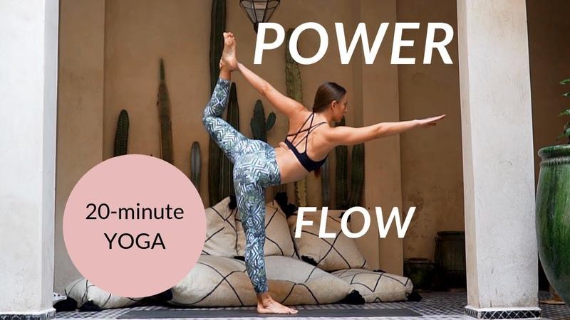 20-Minute Vinyasa Yoga Flow - Day 4 Yoga for Beginners Challenge