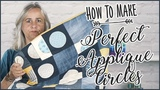 Perfect Applique Circles How To Sew A Perfect Circle Quilt