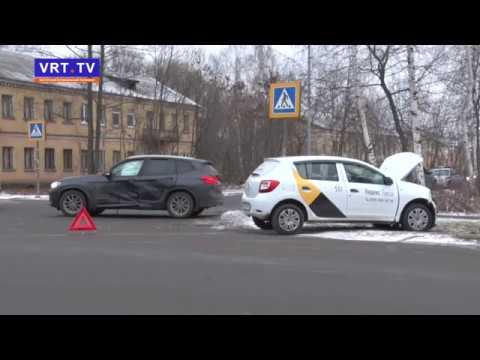 ДТП! Автомобильная авария на восточной стороне города