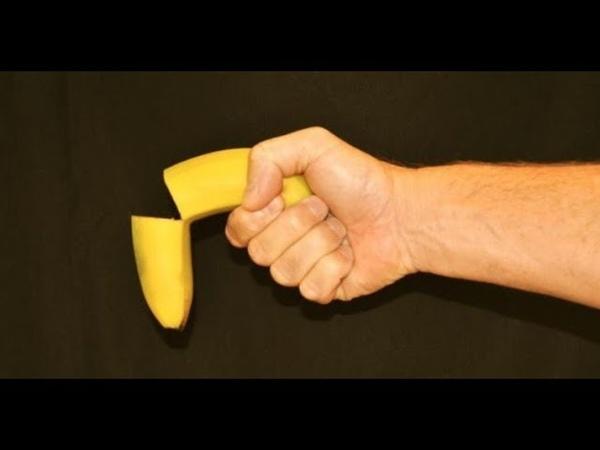 От бананов не стоит?