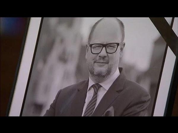 Траур в Польше убийство Павла Адамовича раскололо страну…