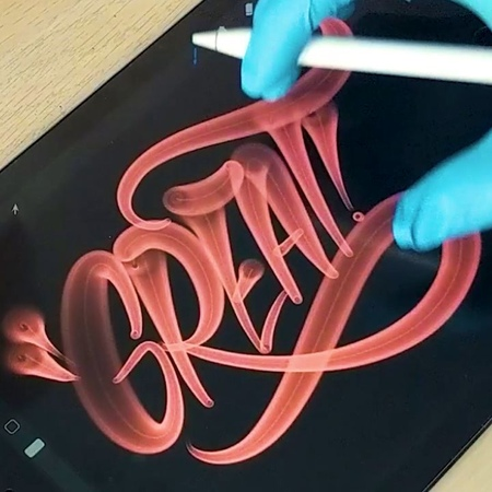 "Max Juric on Instagram: ""Fat cap delight! Starting to get a hang of it 🧚 • calligraphy calligraphyvideo calligraphydaily lettering calligraphy..."