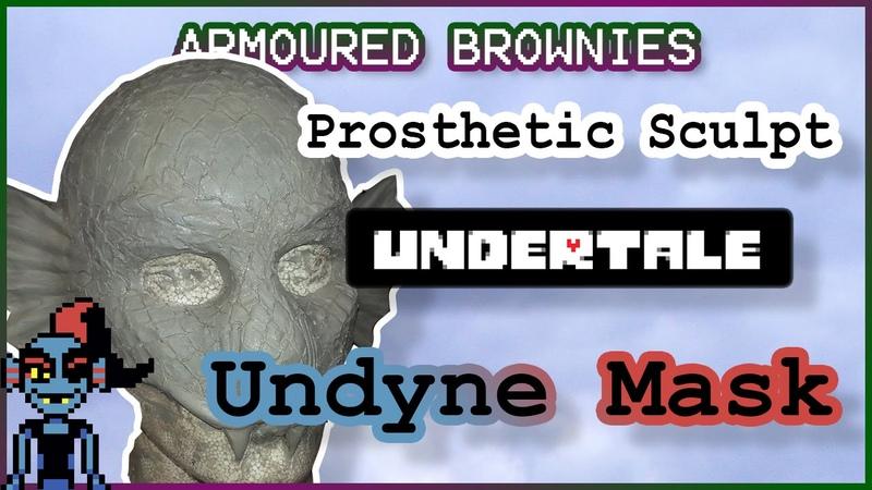 Undyne Cosplay - Undetale Tutorial Prosthetics Sculpt