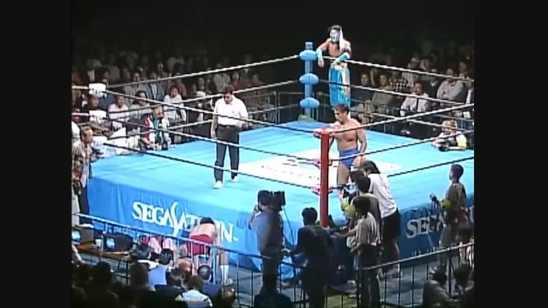 1997.10.11 - Jun Akiyama/Kentaro Shiga vs. Hayabusa/Maunakea Mossman