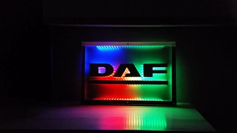 LED logo DAF