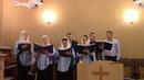 Прославление Бога поет хор церкви 2017 12 03