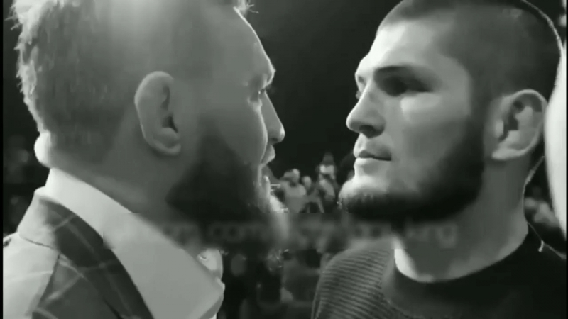Face to Face Conor McGregor👊🏿Khabib Nurmagomedov👊🏼