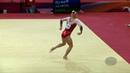 MELNIKOVA Angelina (RUS) - 2018 Artistic Worlds, Doha (QAT) - Qualifications Floor Exercise