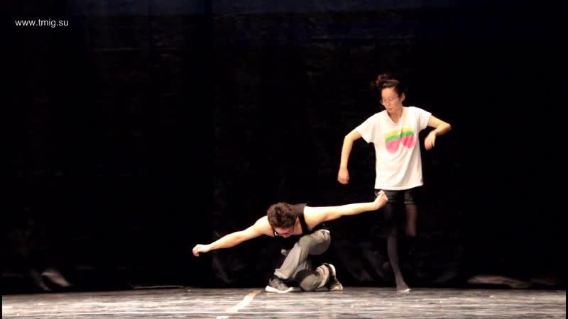 Репетиция пластического эссе Полет бабочки (г. Улан-Удэ)