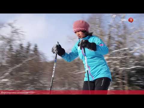100 секунд на Солнце. Тренировка непальских лыжников