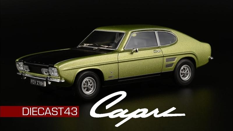 Ford Capri 1600GT XLR    Vanguards    Corgi