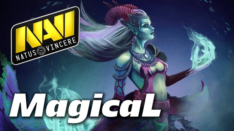 NaVi.MagicaL Death Prophet | Dota 2 Pro Gameplay