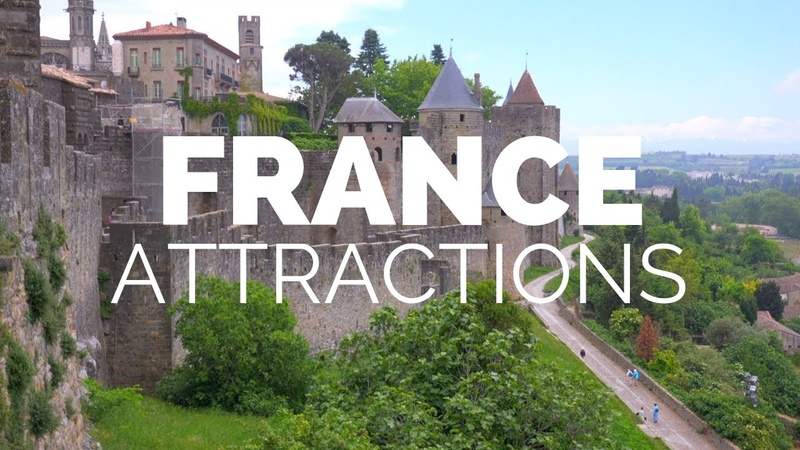 10 Top Tourist Attractions in France Travel Video