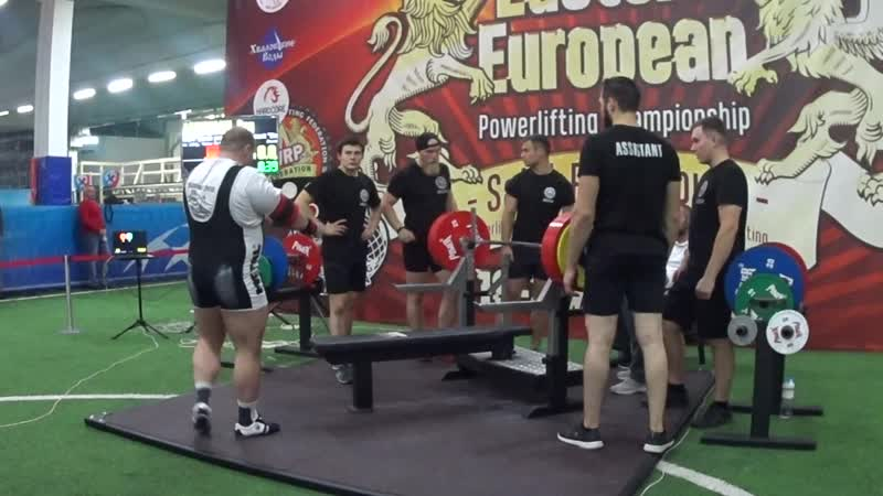 Ашихмин Сергей жим лежа софт Стандарт 310 кг